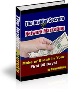 The Insider Secrets to Network Marketing: